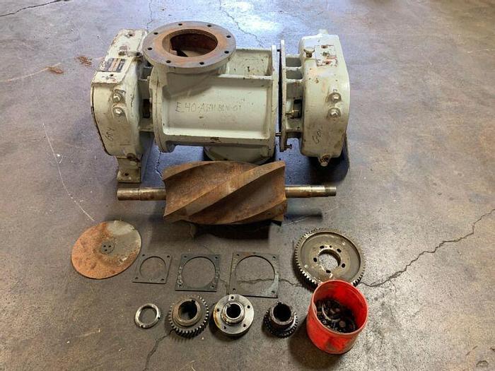 Used Gardner Denver Positive Displacement Helico Screw Blower Model 7CDL17P8 *Parts*
