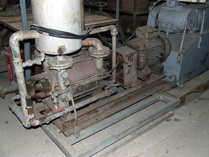 Używane Próżniowa pompa z pierścieniem wodnym SIHI, USA