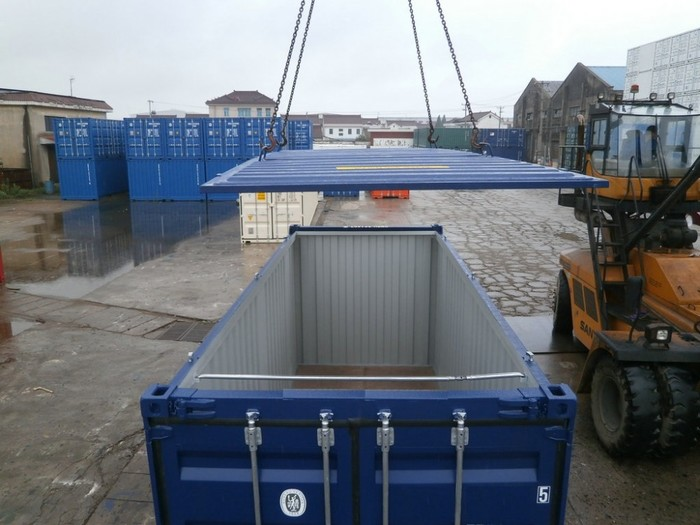 """20 'Container 8'6 """"Hard Top"""