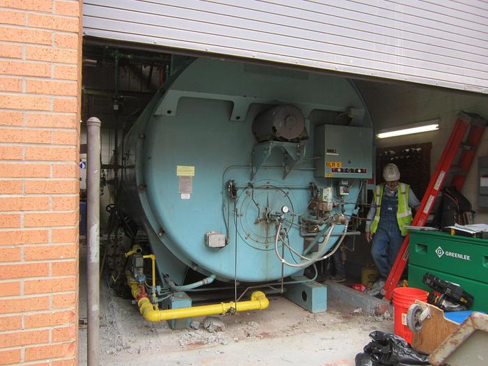 Used Cleaver Brooks 750 HP 150 PSI steam boiler