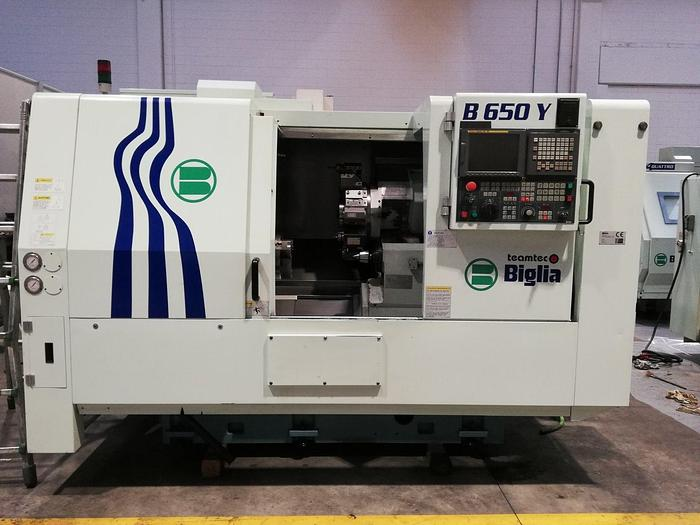 Turning Center CNC BIGLIA mod. B650Y