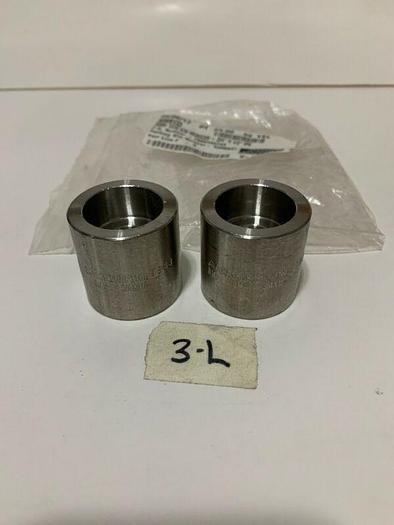"""A/SA182 F316/F316L T883 B16 3M 3/4x1/2""""Sleeve Stainless steel S/W REDUCER 2QTY."""