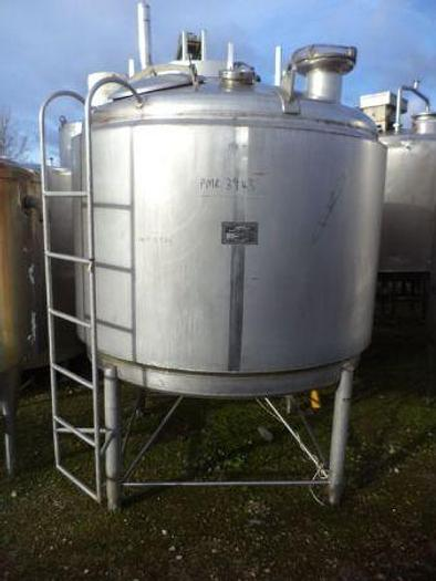 Used 2,250 litre APV Insulated Tank with conical bottom