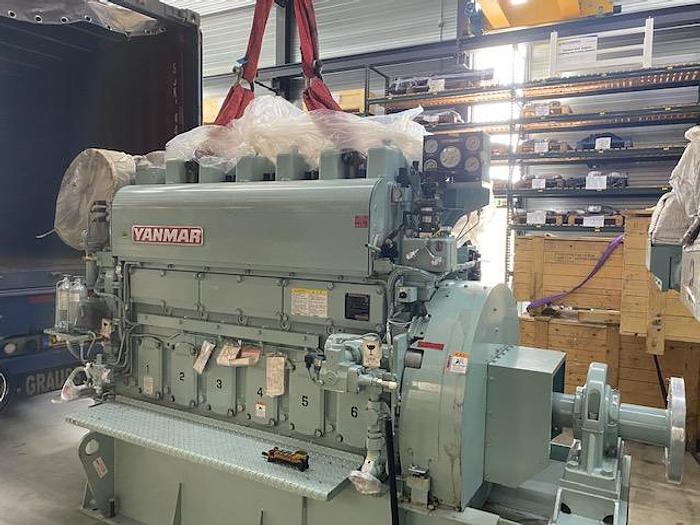 Yanmar 6EY18ALW marine engine built 2012 new