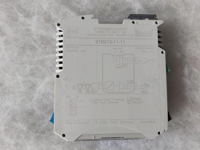 Messumformerspeisegerät, Transmitter, 9160/13-11-11, R. Stahl,  neu
