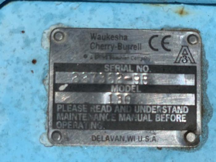 Waukesha Model 130 Positive Displacement Pump