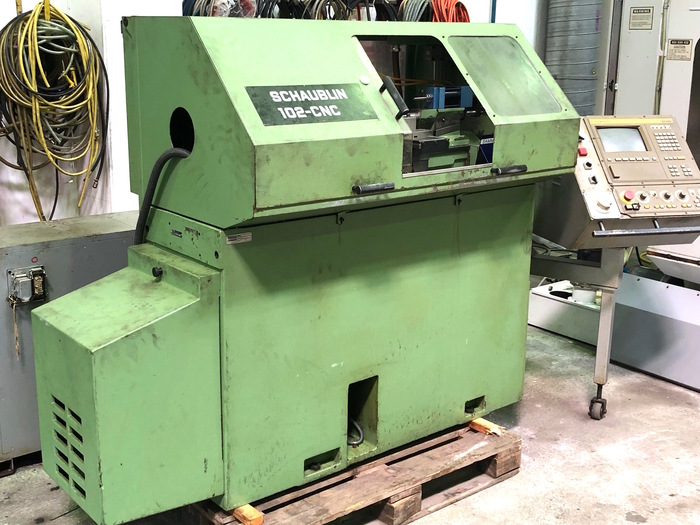 CNC Drehmaschine SCHAUBLIN 102-CNC