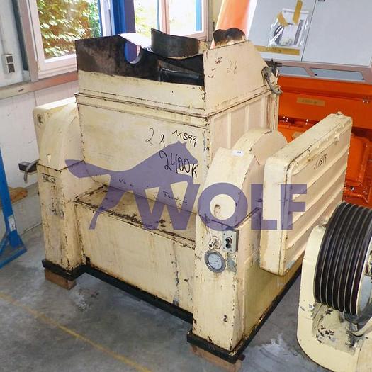 Gebraucht Doppel-Z-Kneter ACSAmit ca. 250 Liter Nutzinhalt in Normalstahl.