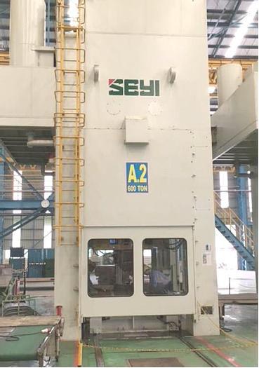 Used Seyi,Taiwan SE4-600