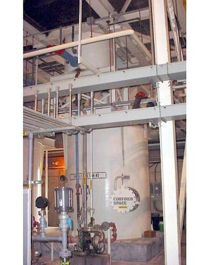 USED LAMELLA GRAVITY SETTLER/THICKENER, 740 SQ. FT.