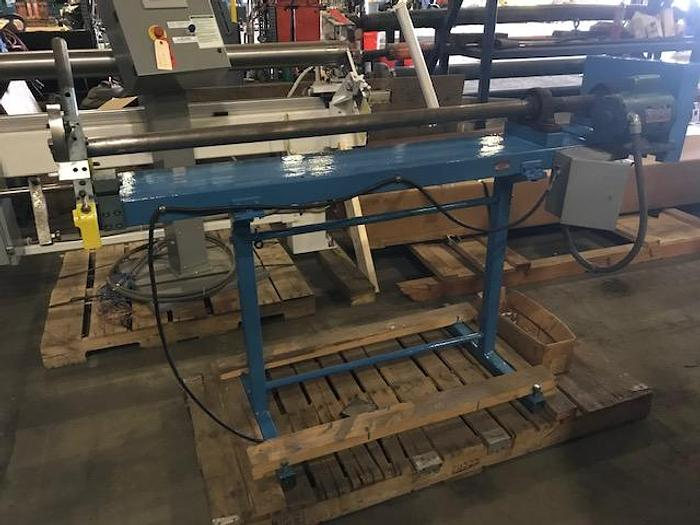 "Used 60"" CUSTOM MANUAL 3"" DIA. CORE CUTTER 1/3 HP"