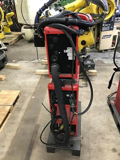 "FRONIUS 21"" X 60"" X 150 KG TRUNION STYLE CYLINDRICAL WELDING CELL"