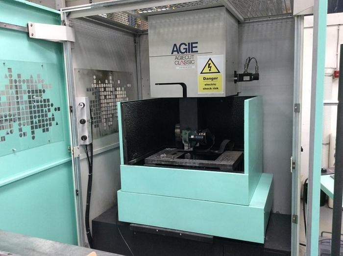Used 1997 Agie Agiecut Classic 2 Wire EDM Machine