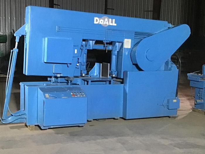 Used DoAll Mdl. C-21620 Horiz. Band Saw