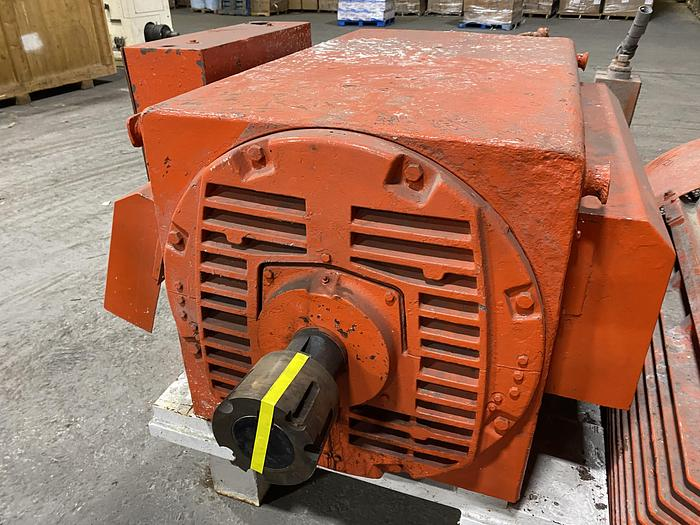 Used 400 HP ELECTRIC MOTOR 720 RPM UNUSED SPARE