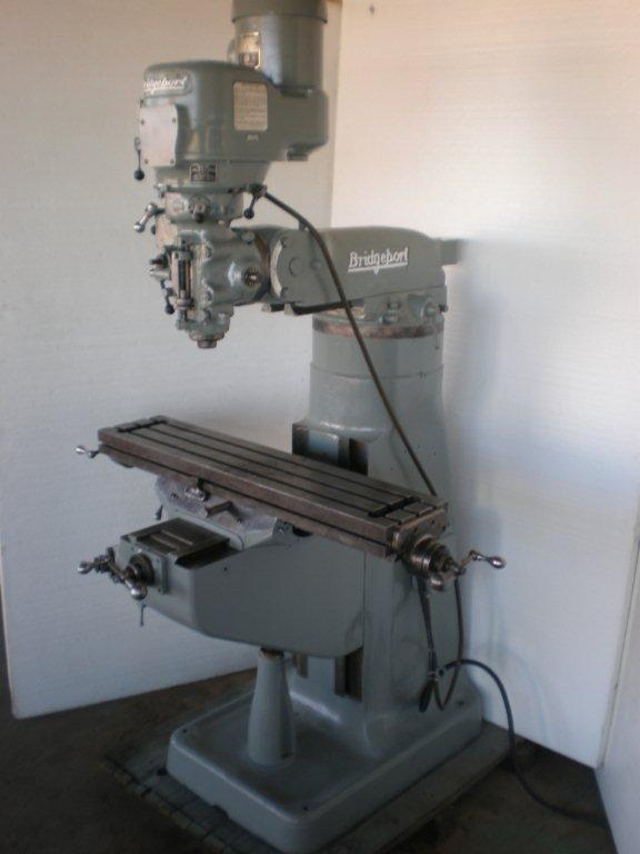 "9"" x 42"" BRIDGEPORT Vertical Milling Machine"