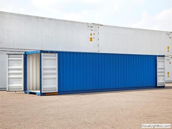 """40 'container 8'6 """"Double Doors"""