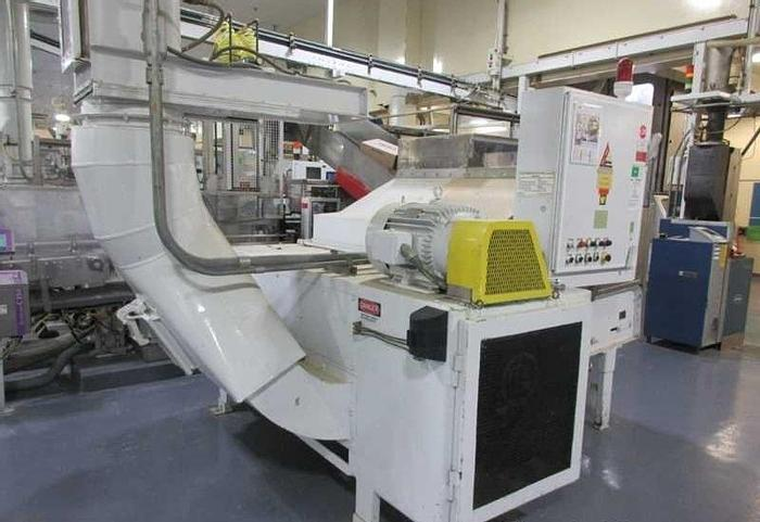 """Used 60"""" BLOAPCO FLOOR MOUNTED SHREDDER CARDBOARD AND CORES"""