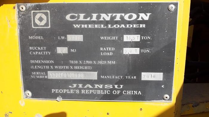 2010 CLINTON LW-500F