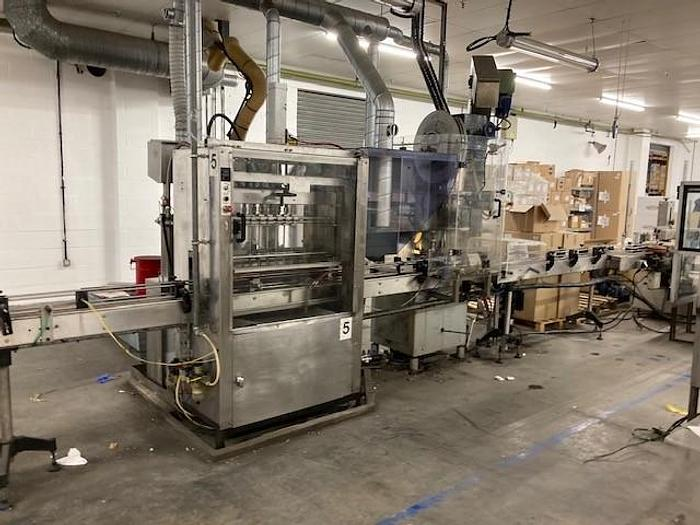 Used Masterfil 6 Head Filling Line