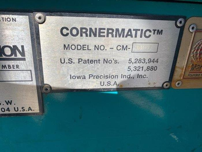 Used IOWA PRECISION CM-F-DH CORNERMATIC INSERTS & CRIMPS TDC/TDF STYLE CORNERS   Our stock number: 5505
