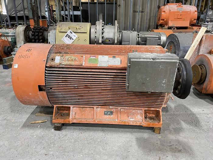 Used 700 HP SIEMENS AC MOTOR 894 RPM