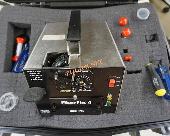 Used FiberFin4  diamond finishing machine