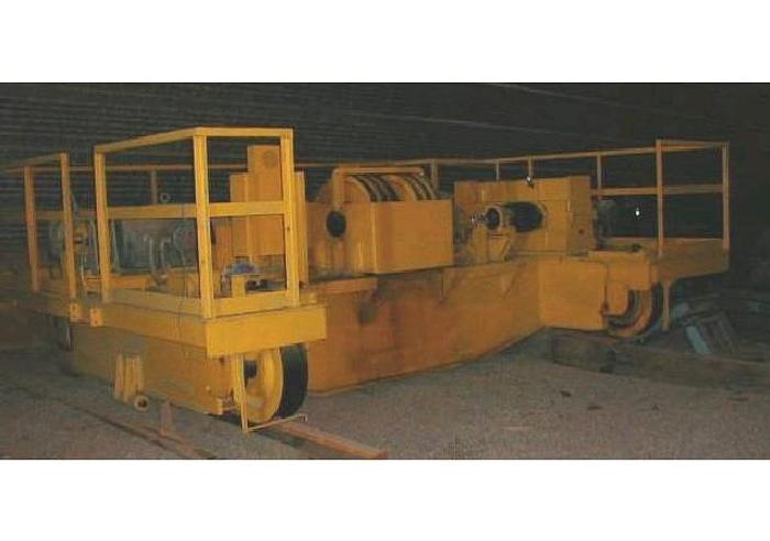 1980 UNUSED 1980 EDERER 150 TON BRIDGE CRANE FOR SALE – BEST OFFER
