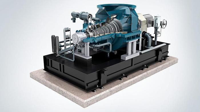 30.0 MW 2015 Siemens SST 400 Steam Turbine