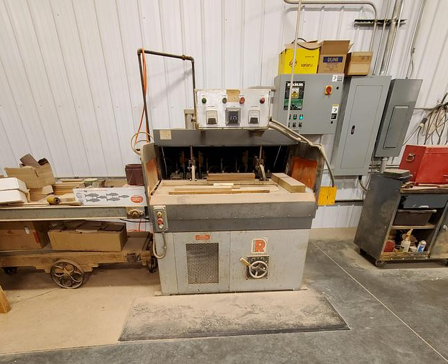 Used Rosenquist 350A Edge Gluer