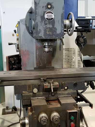 ELLIOTT STURDIMILL 1500 VERTICAL MILLING MACHINE