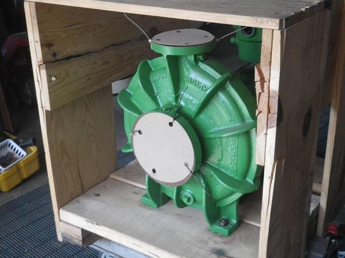BUFFALO BOILER PUMP BRAND NEW IN ORIGINAL CRATE PEERLESS WINSMITH  Peerless Winsmith