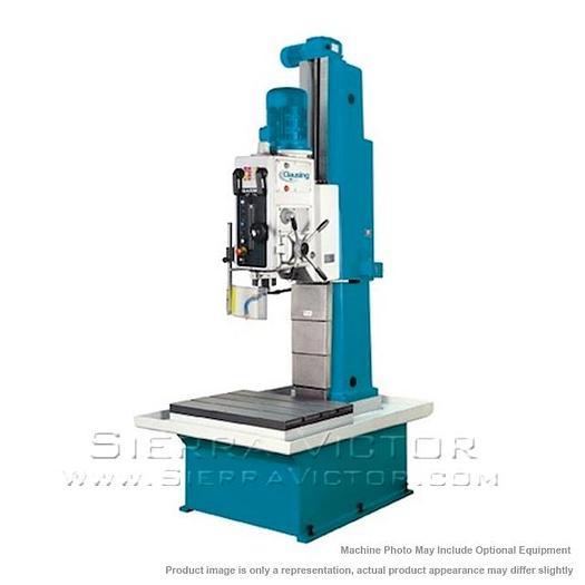 CLAUSING/IBARMIA Geared-Drive Prismatic Column Drills BP-50