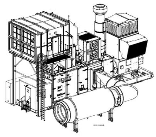 Siemens SGT 400 DLE, 12 MW Generator drive package
