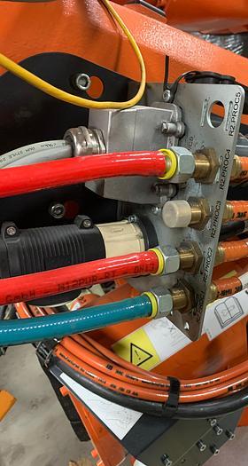 ARO 3G SERIES MODEL V146012000U SERVO SPOT WELD GUN 222MM OPENING 1300 LBS MAX. FORCE