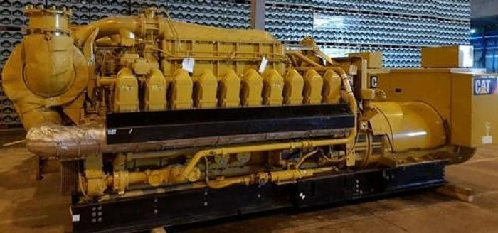 Used 1.97 MW 2011 Used Caterpillar 3520C Natural Gas Generator