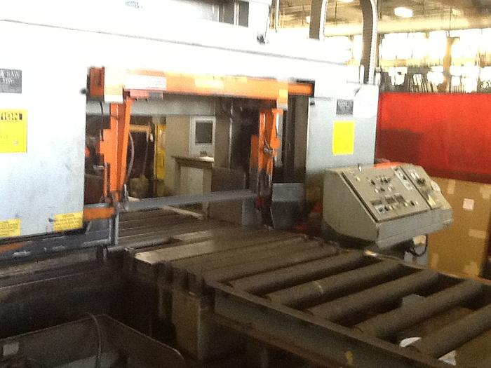 Used 1995 H.E.M.  H160XLM-DC DUAL COLUMN LARGE CAPACITY BAND SAW