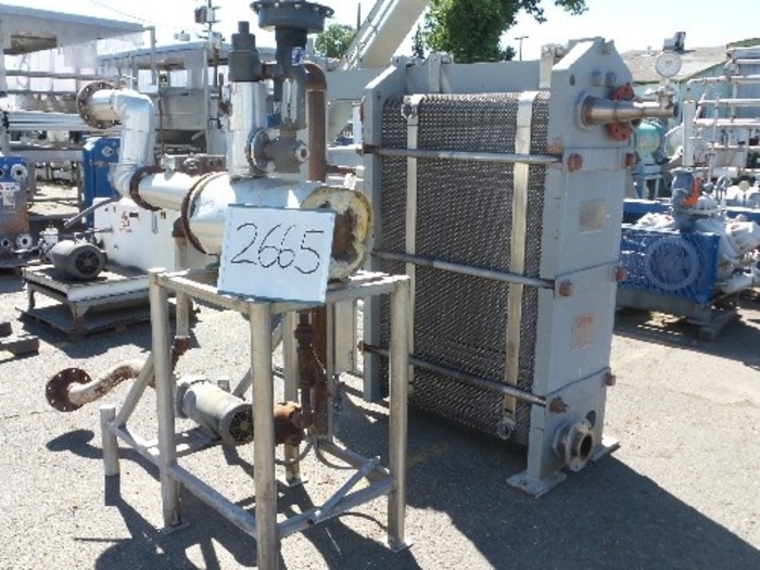APV APV Plate Heat Exchanger with Heat Set #2665