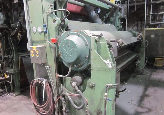 """Used 118"""" (3.00M) FARREL KUSTERS 2 ROLL CALENDAR STACK 1000 PLI  (PM 4)"""