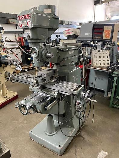 Used EX-CELL-O Excello Model 602 Vertical Variable Speed Milling Machine #5794