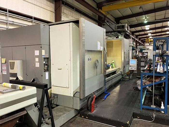 "Used 3120, DMG, DMF360, Linear 5-Axis, 141"" X-Travel  CNC Vertical Machine Center, 2007"