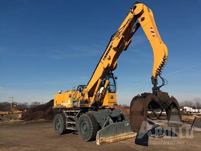 Used 2011 Liebherr 944 Crawler Excavator with Log Grapple
