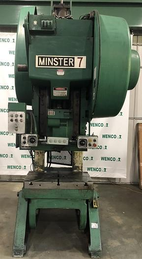 Used MINSTER #7SS