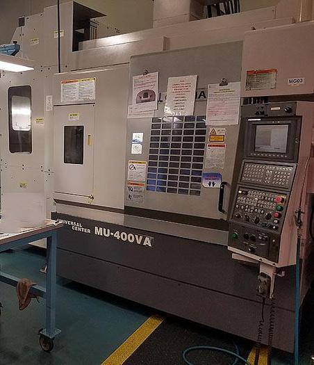 2003 Okuma MU-400VA 5 Axis full Contouring