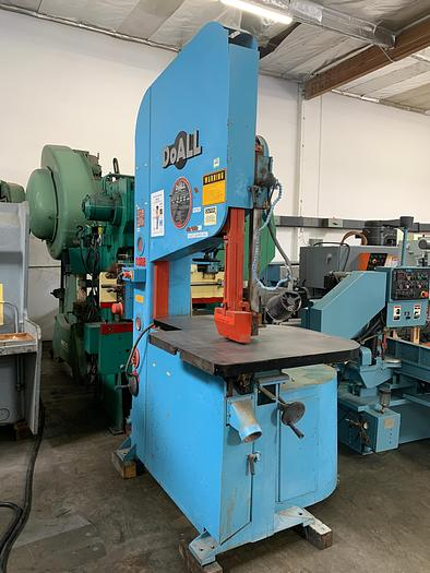 "Used 35"" x 20"", DOALL, ZW-3620 ZEPHYR, 1992, HIGH SPEED, 50-5200 FPM, BLADE WELDER   Our stock number: 5569"