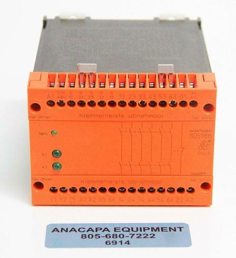 Used Dold Safemaster BO5988 BO5988.61/024 Safety Relay 24VDC (6914)