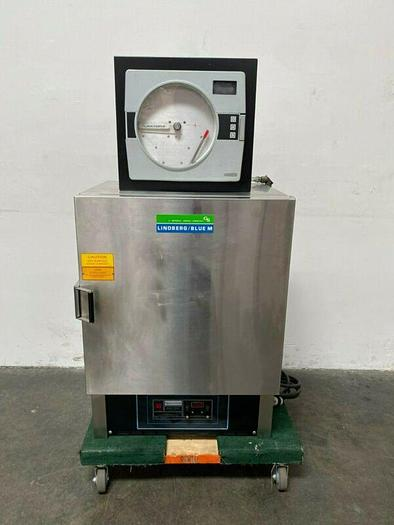 Used Lindberg Blue M OV-510A-3 Stabil-Therm Electric Oven w/ Pro-Tronix II Controller