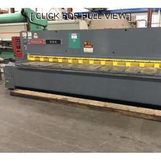 "Used 1989 1/4"" X 12' NIAGARA Model IF-12-1/4"""
