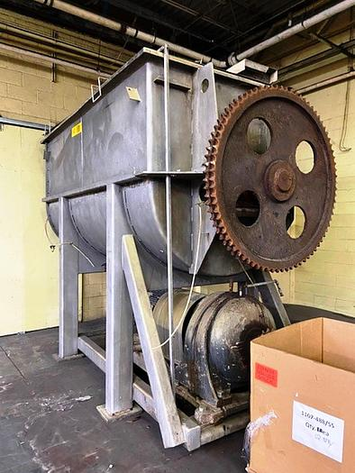Used Day 290 cuft Ribbon Blender SS