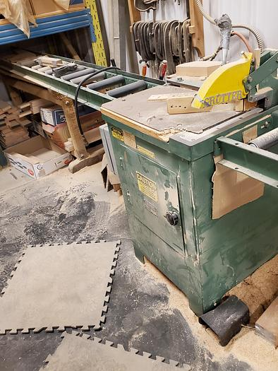 Used Grutter 1603 Upcut Saw